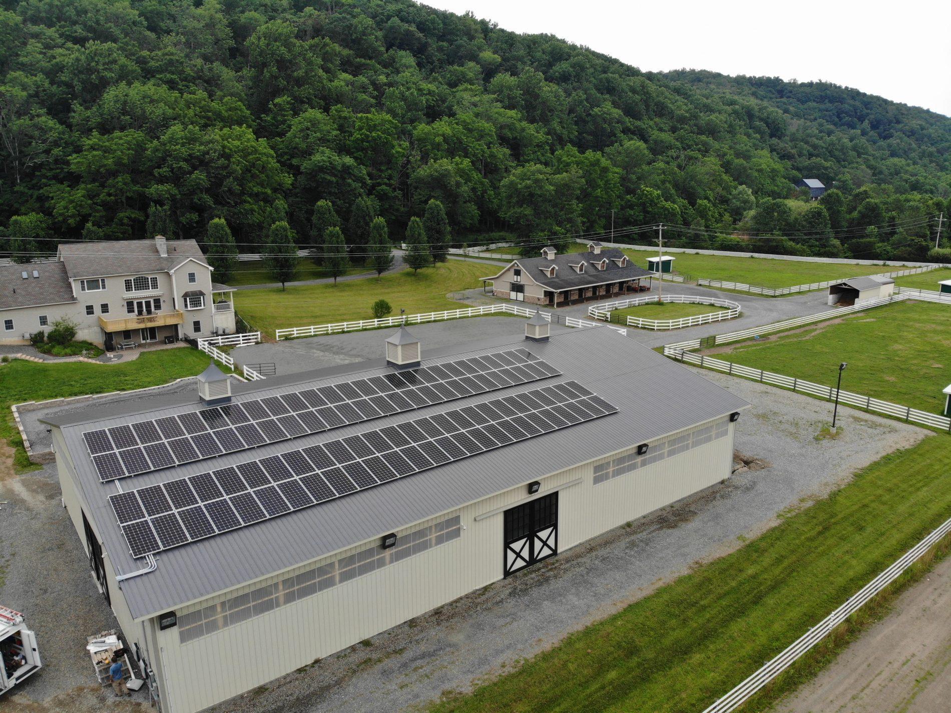 Off-Grid Solar Installation