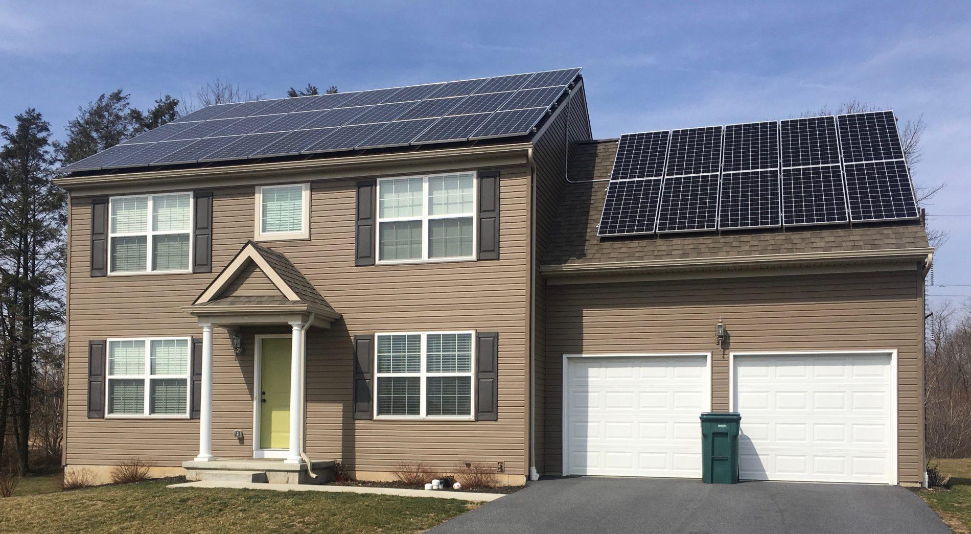 Grid-Tied Solar Installation
