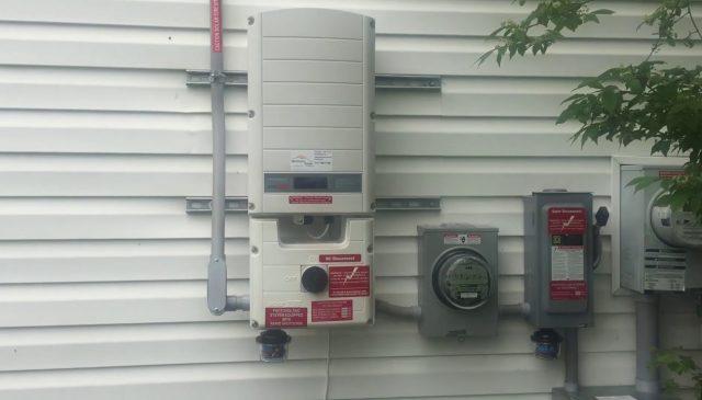 10 kW Roof Mount Solar Array