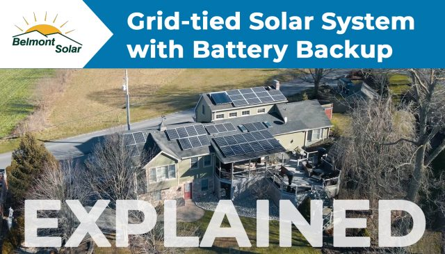 grid tied solar with battery storage