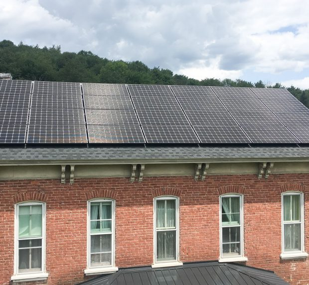 Grid-Tie Solar Installation