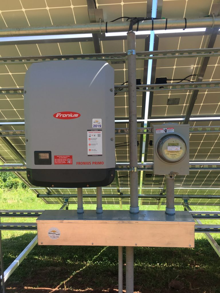 An solar battery backup from PA solar installation company