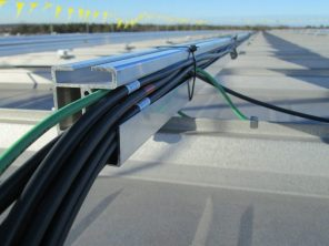 Solar panel mounting method from solar installation company