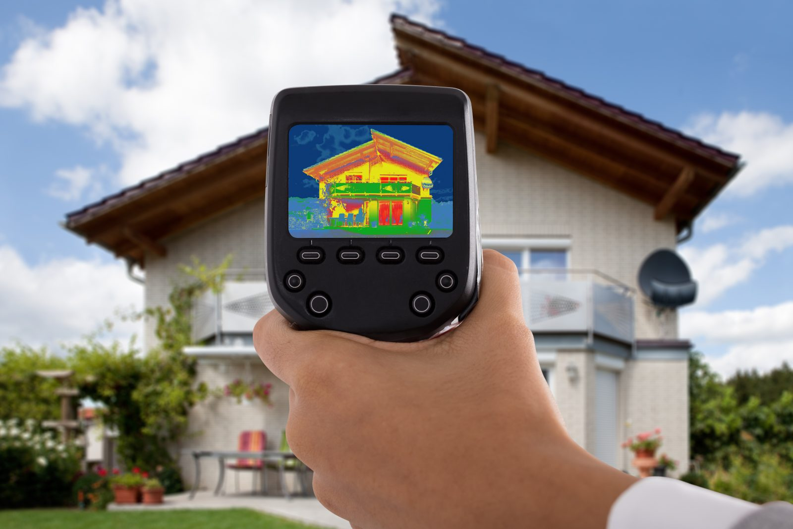 Get a home energy audit done for your net zero house.