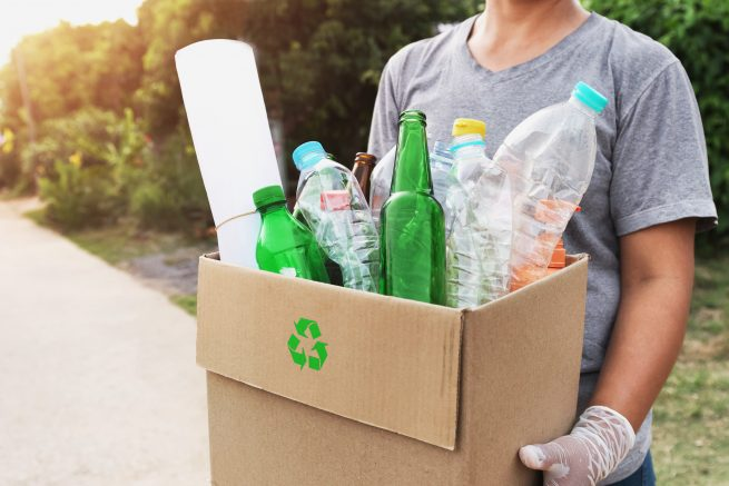 Recycling is one of the best energy saving tips.