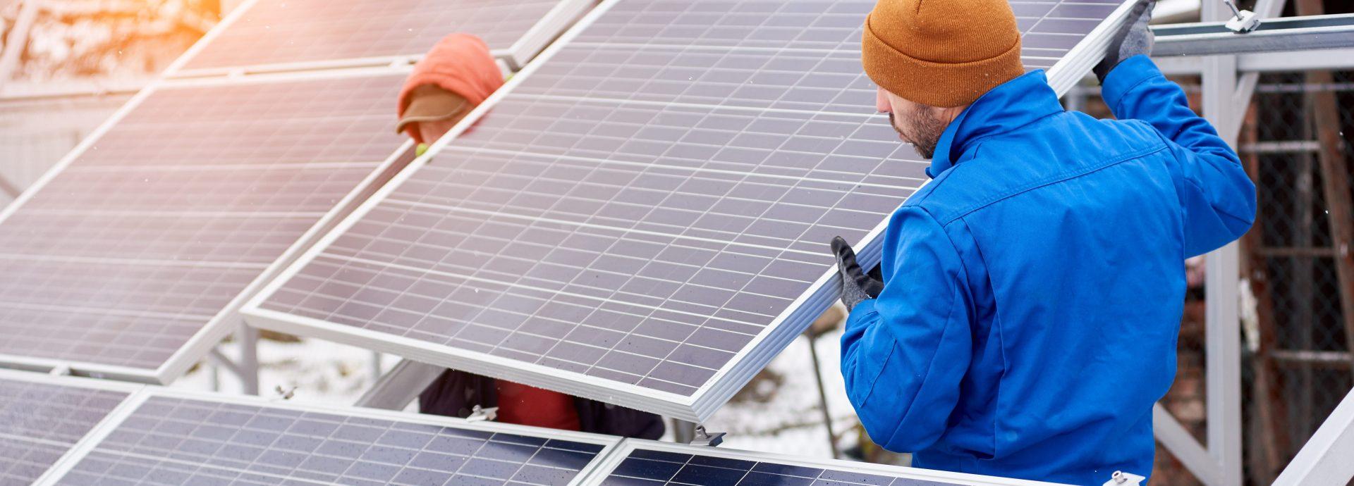 A solar panel installation company serving Pennsylvania and Maryland.