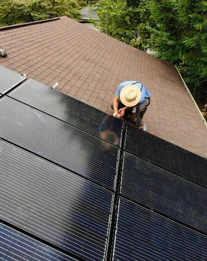 Our solar energy company in PA can expertly install solar panels on the ground or your roof.