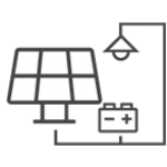 Our solar energy company installs grid tied solar panel systems with battery backup.