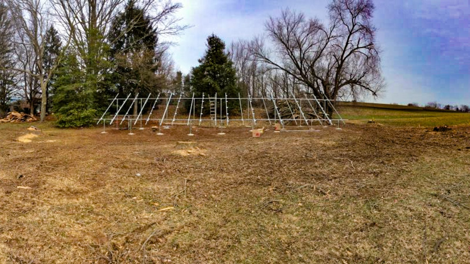 The solar installation for a net zero building in lancaster pa.