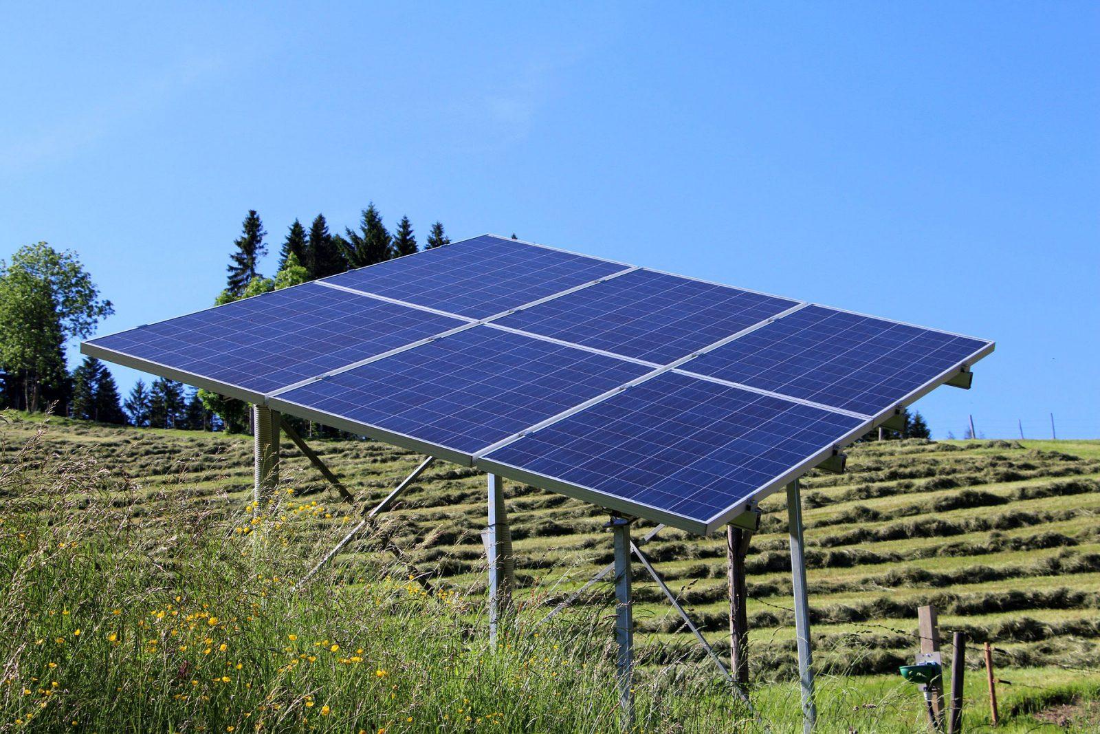 off grid solar systems solar panel field mount