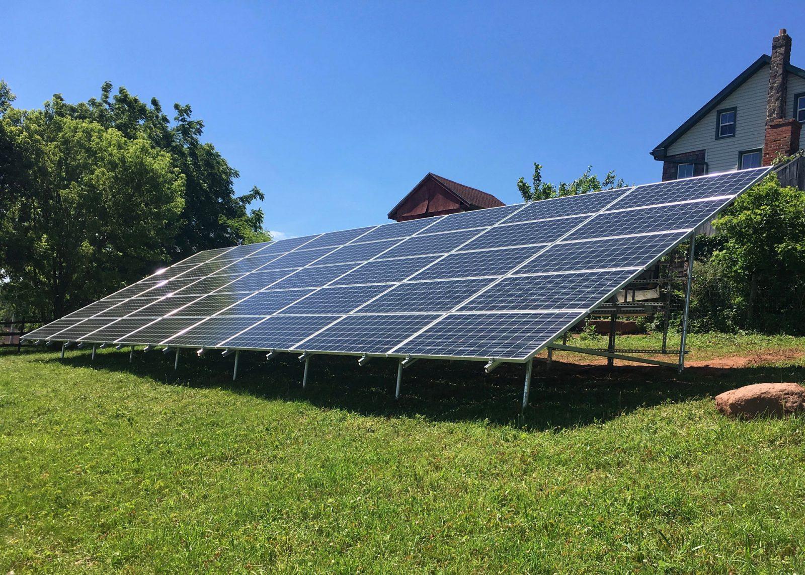 solar panel savings off grid solar panel array