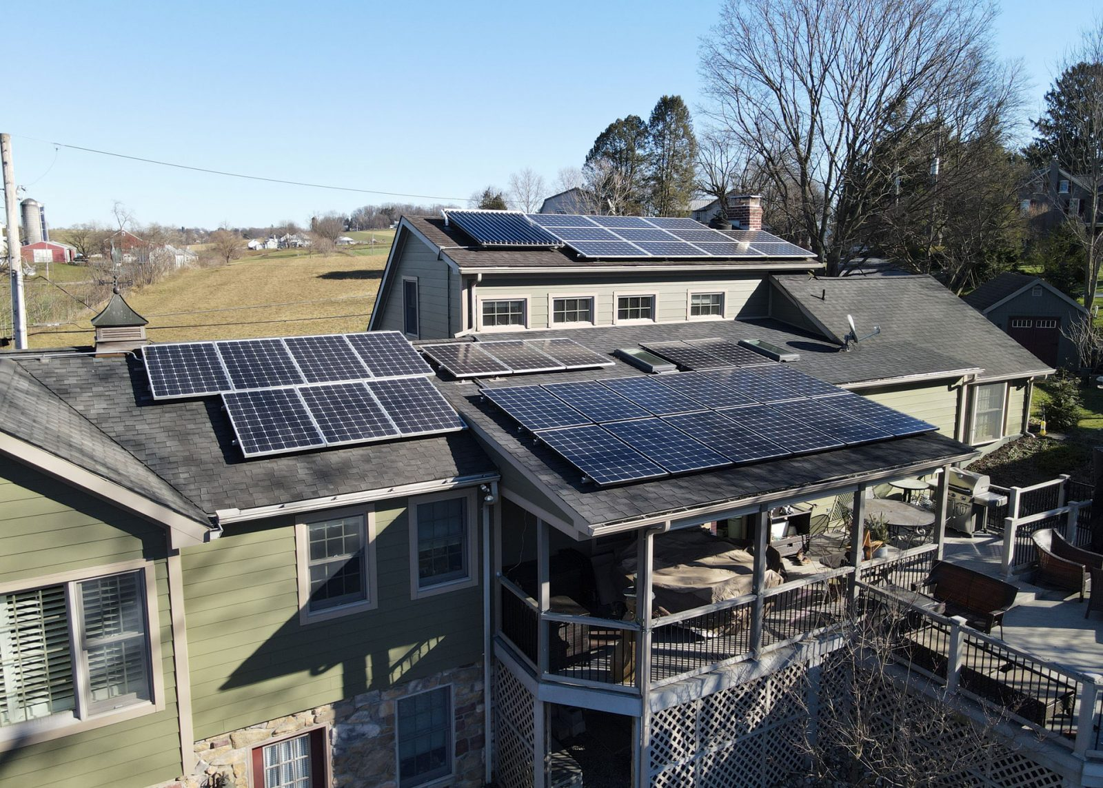 solar panel installation options grid tied solar panel system